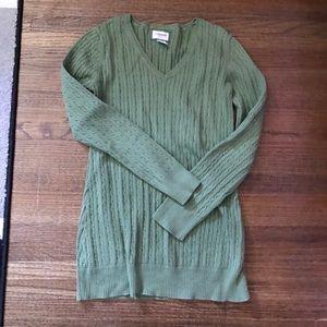 Motherhood Maternity green sweater